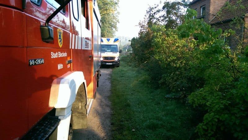 Bleckede: Türöffnen für Rettungsdienst